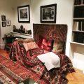 Anna et Sigmund Freud au 20 Maresfield Gardens, Londres
