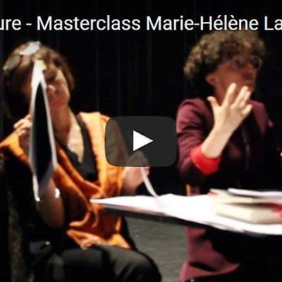 Vidéo Masterclass Questions d'écriture, Marie-Hélène Lafon 8 Les origines de la langue