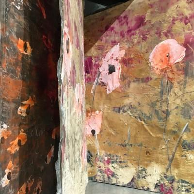 Aquarelle sur plâtre - Anselm Kiefer