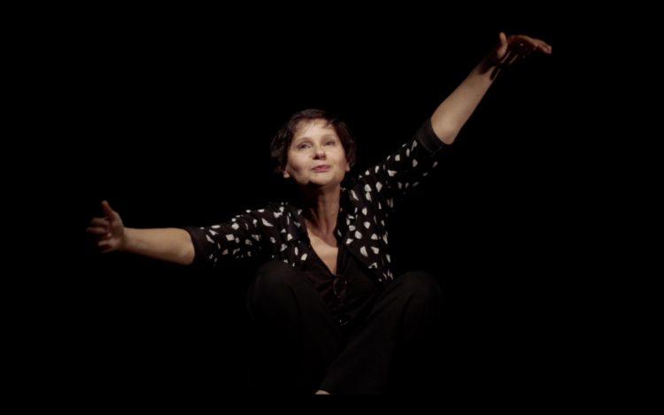 Portrait de Catherine Benhamou lors de son spectacle Hors Jeu, ©Gilles Trinques